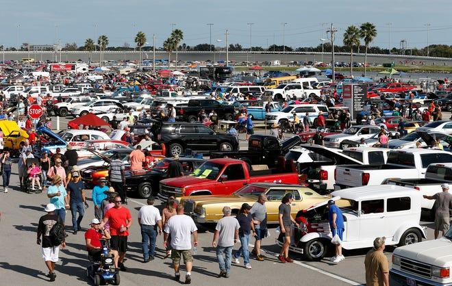 Daytona Turkey Run at Daytona International Speedway, Saturday, Nov. 28, 2020.