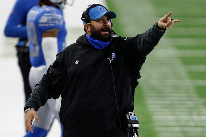 Matt Patricia, the former Patriots defensive coordinator, was fired as Detroit Lions coach on Saturday.