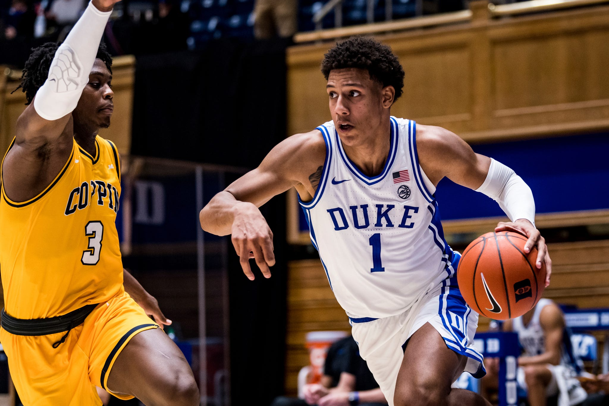 Duke freshman Jalen Johnson out indefinitely with a foot injury