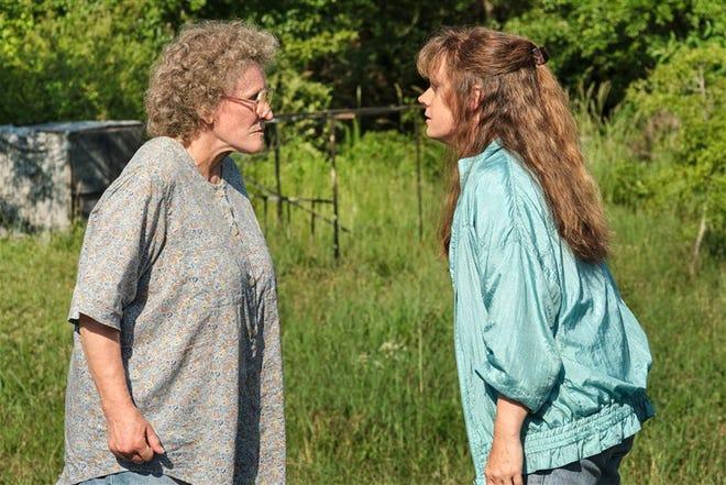 """Hillbilly Elegy"" premiered on Netflix on Nov. 11 and stars Glenn Close (left) and Amy Adams (right)."