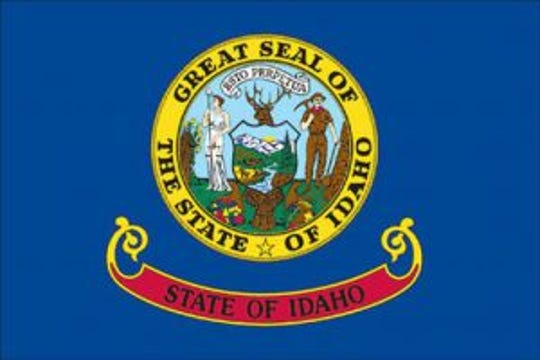 The Idaho state flag