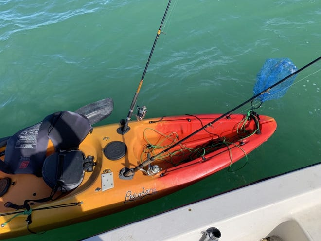 Coast Guard Sector Key West watchstanders received a report of an unmanned and adrift kayak near Everglades City at about 5 p.m. on Nov. 27, 2020.