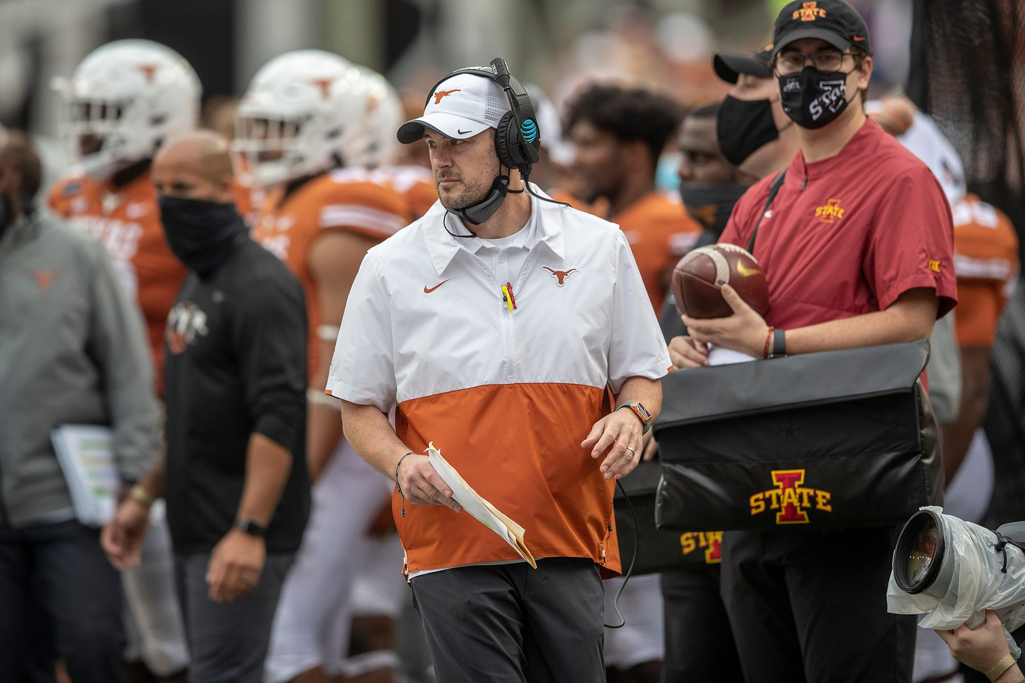 Opinion: Texas must deliberate on Tom Herman's cloudy future after crushing loss to Iowa State