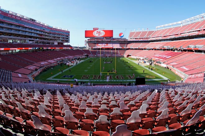 The 49ers will have to leave their usual home in Santa Clara County after officials banned all contact sports from holding games and practices for the next three weeks due to the pandemic.
