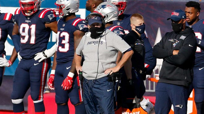 The Patriots were fined by the NFL for Covid violations.