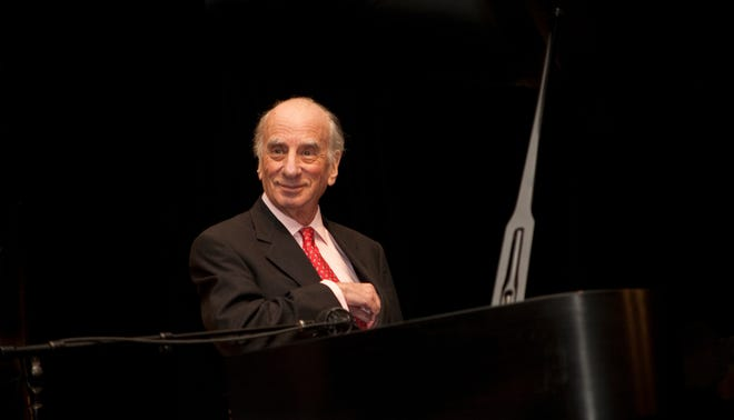 Jazz legend Dick Hyman performs an outdoor concert with the Florida Jazz Masters for Artist Series Concerts of Sarasota at Selby Gardens.