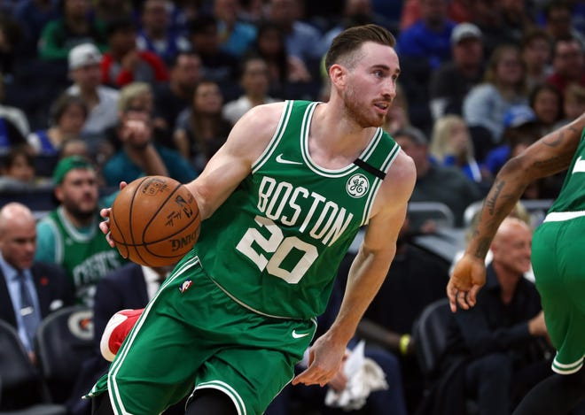 The Gordon Hayward trade was made official on Sunday, as Boston and Charlotte worked out the deals for the forward to become a Hornet.