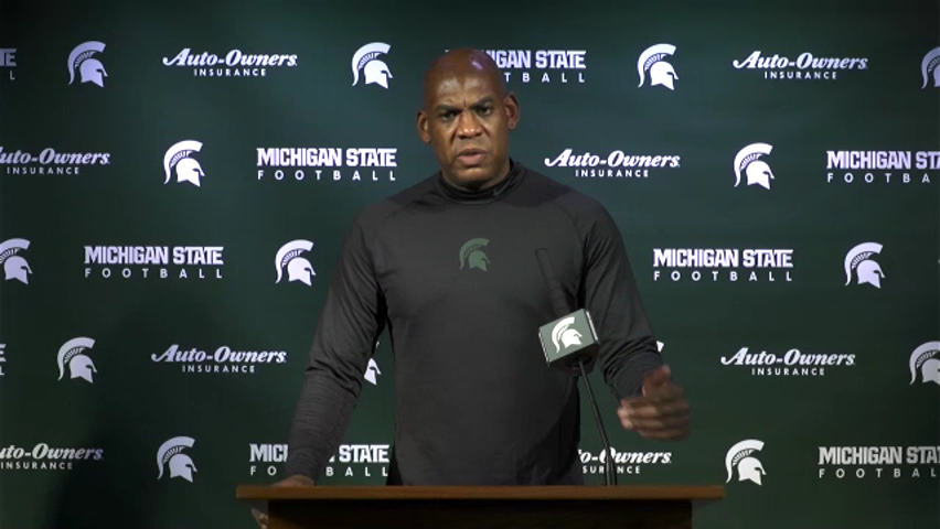 Michigan State's Mel Tucker after upset win: 'Closer to brand of football we need'