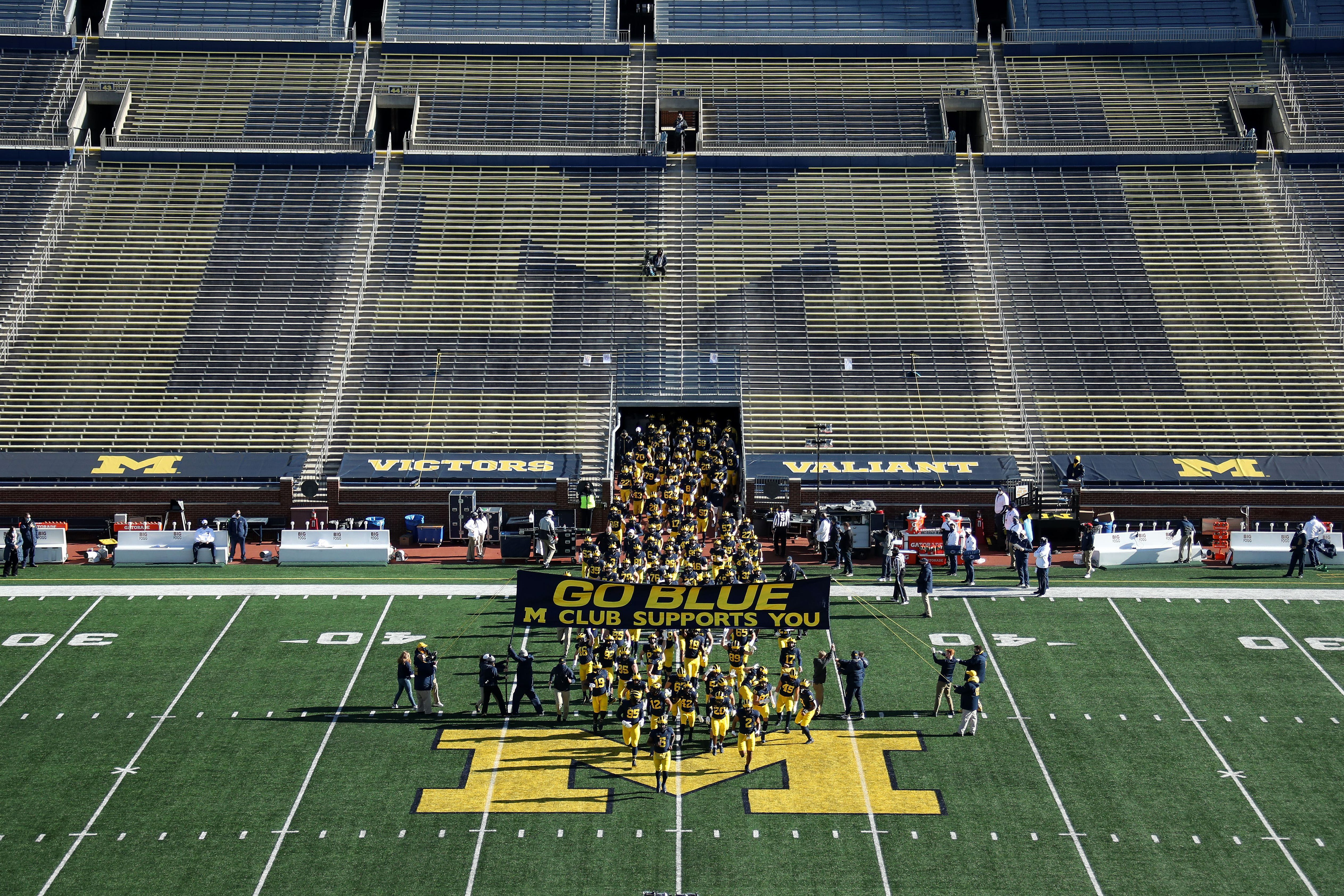 Michigan football's Mike Macdonald: Our players are doing all they can to learn system