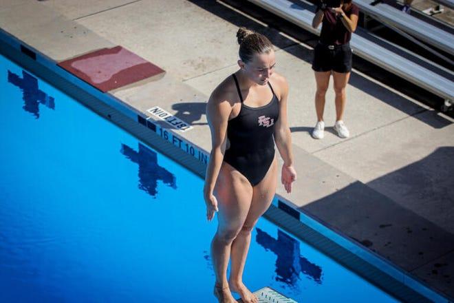 Freshman Samantha Vears aims to break records as the season heats up.