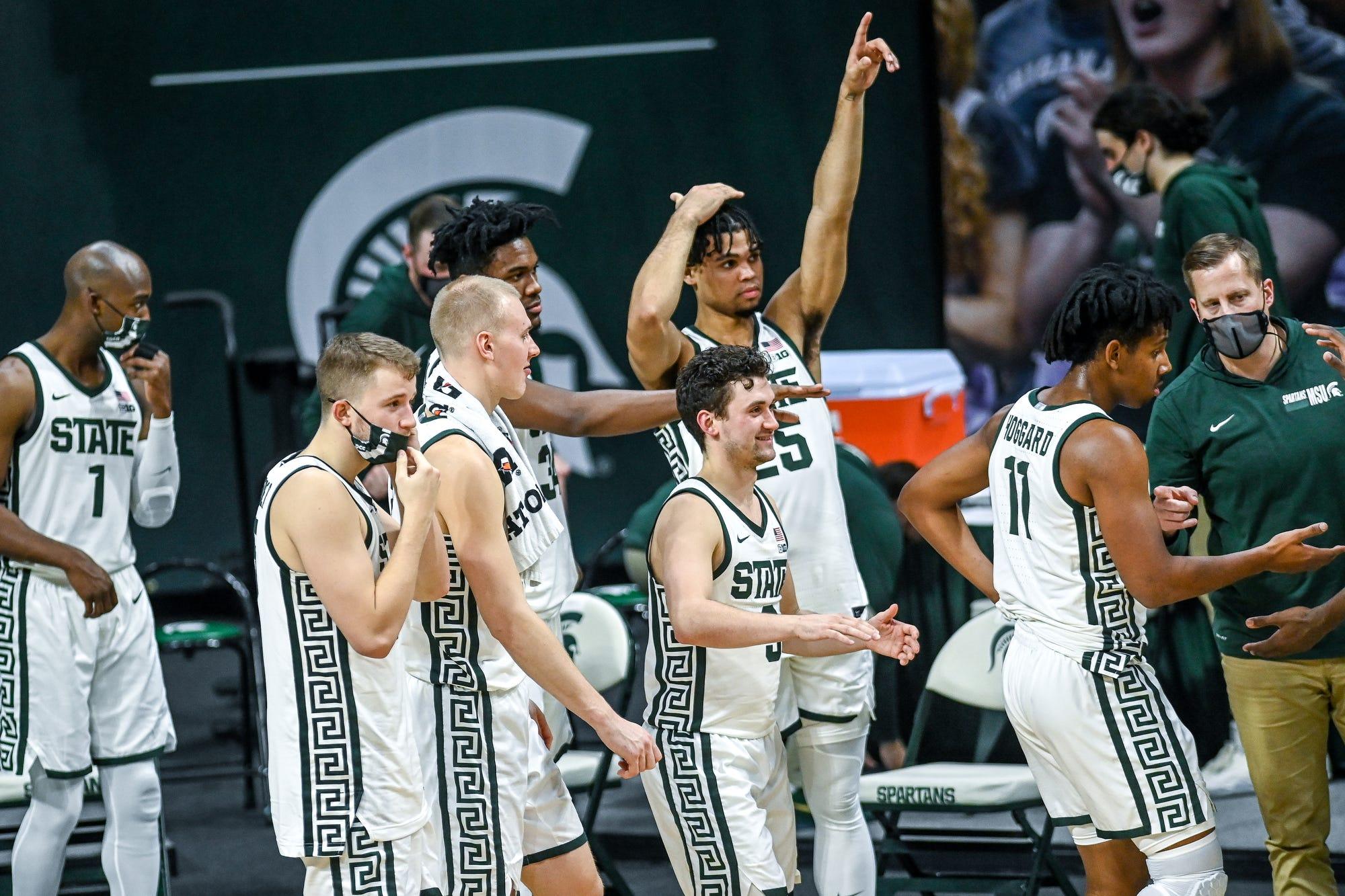 Thomas Kithier Michigan State Spartans Final Four Basketball Jersey - Green