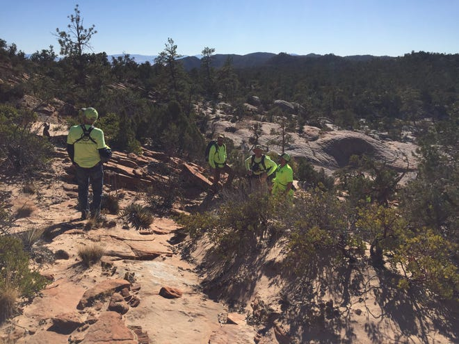 Members of search and rescue teams spent nearly two days searching over the weekend for a 15-year-old who went missing after hiking with family members. He was found alive and brought back to his family by helicopter on Saturday.
