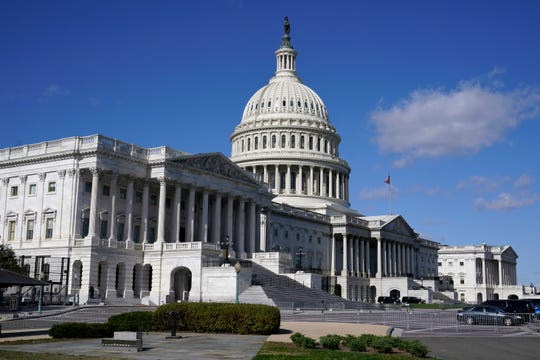 U.S. Capitol Building on Nov. 2, 2020, in Washington, D.C.