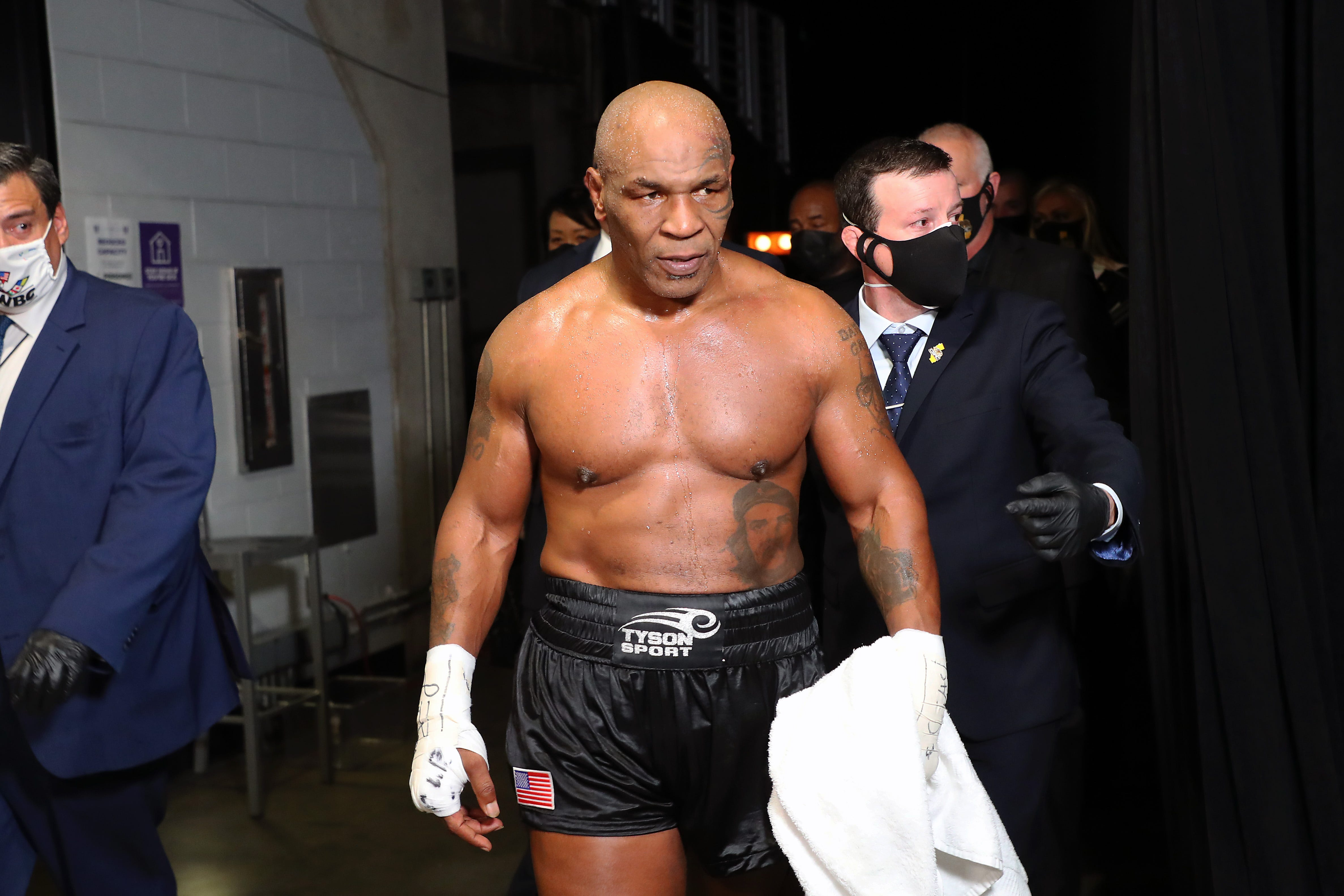 Mike Tyson says he smoked marijuana before fight vs. Roy Jones Jr.: 'It's just who I am'