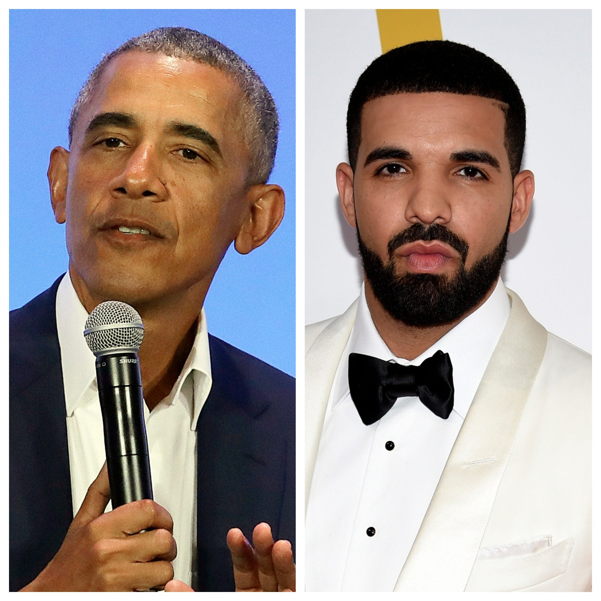 That is a talented, talented brother : Barack Obama endorses Drake to play him in a biopic