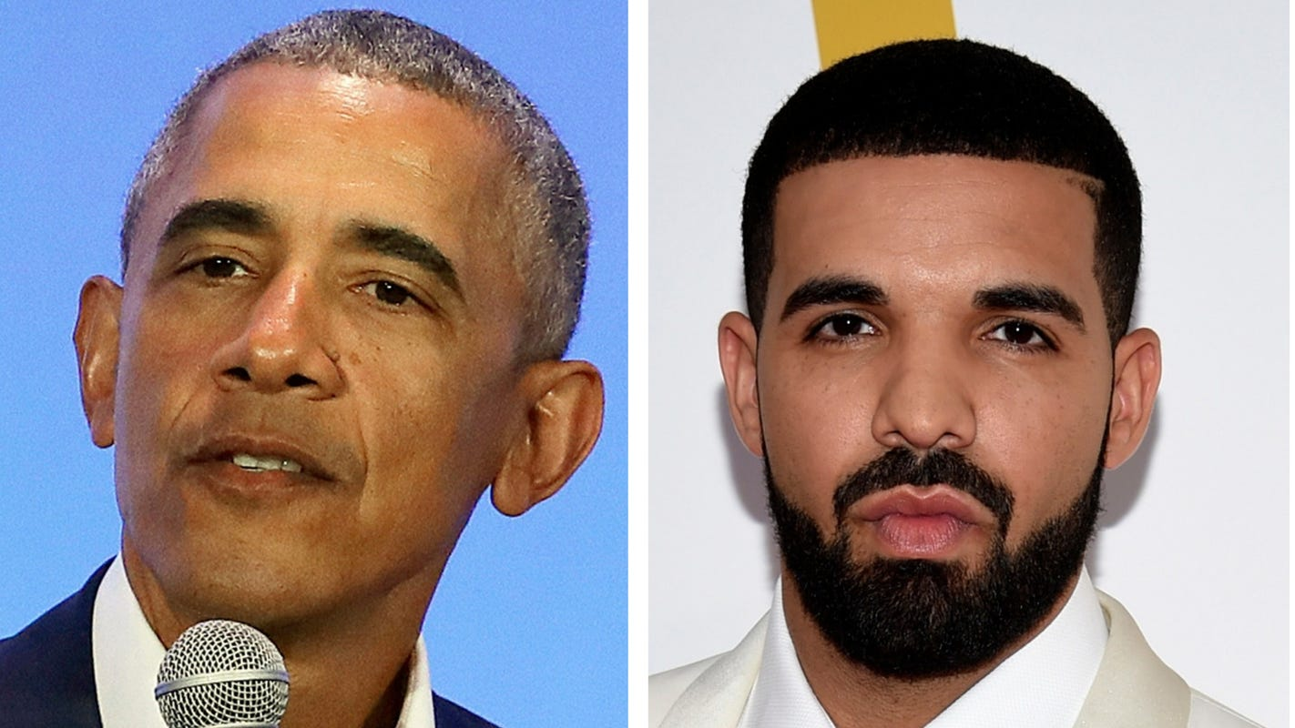 'That is a talented, talented brother': Barack Obama endorses Drake to play him in a biopic - USA TODAY