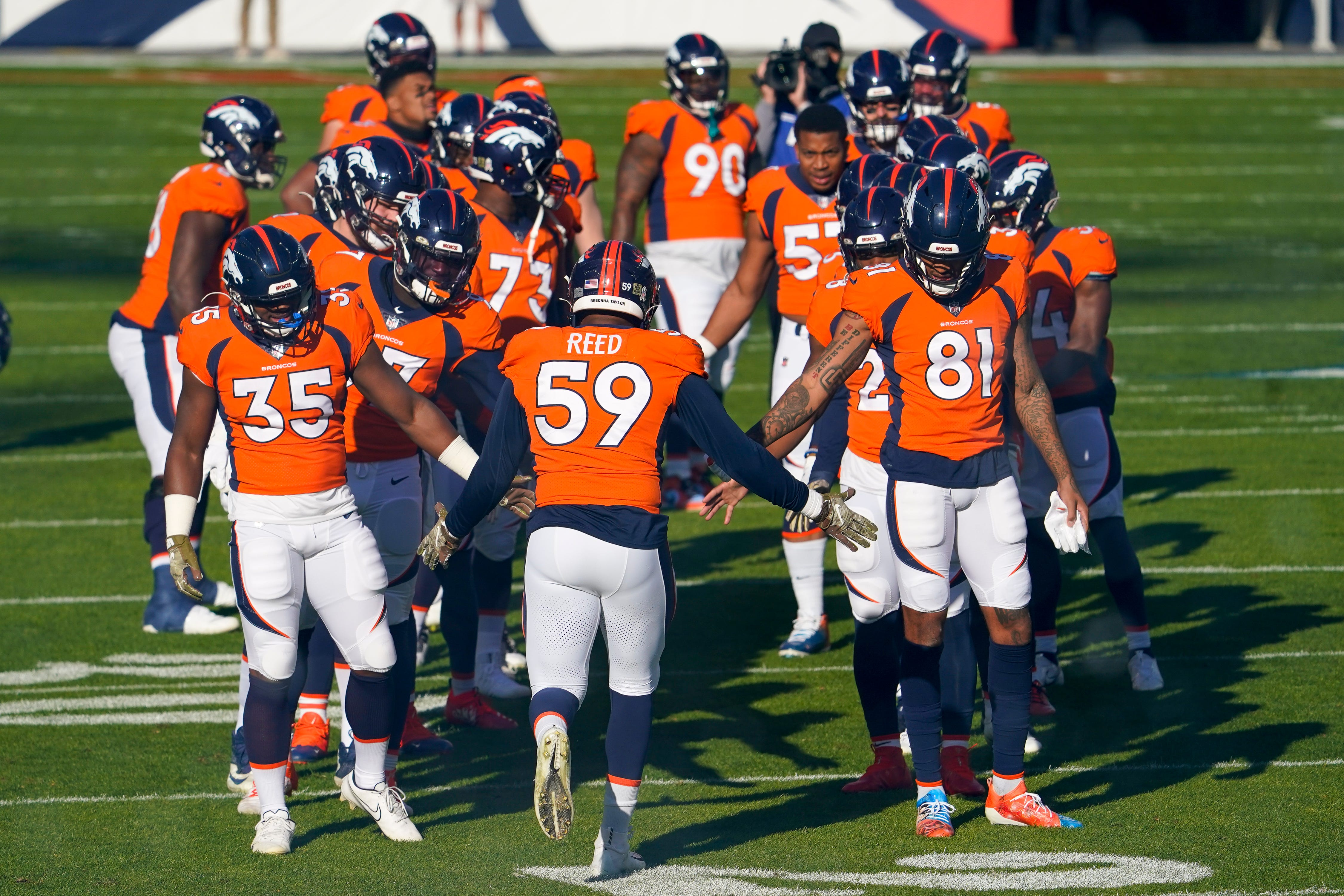 NFL denies Broncos  request to start offensive assistant Rob Calabrese at QB, per report