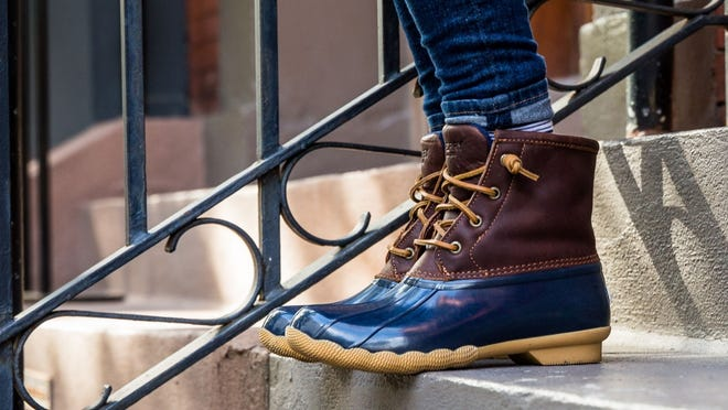 Black Friday 2020: Sperry duck boots are discounted during the annual shopping event.