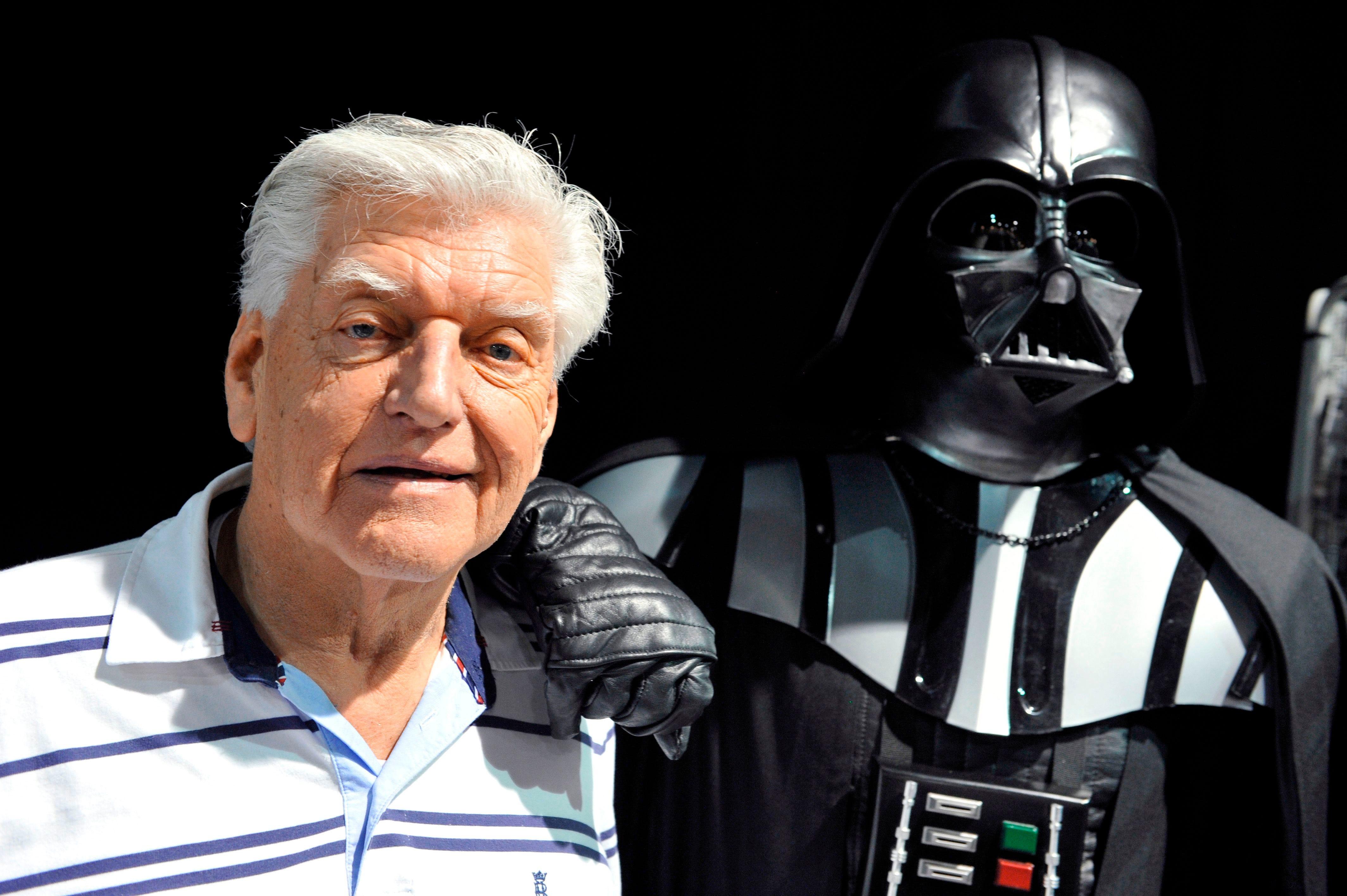 David Prowse, the original Darth Vader in  Star Wars,  dies at 85
