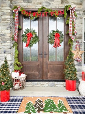 Fun awaits those who take a virtual tour Dec 12 and 13 of area homes decorated for the holidays as part of a benefit for SS. Peter and Paul Catholic School in Beaver.
