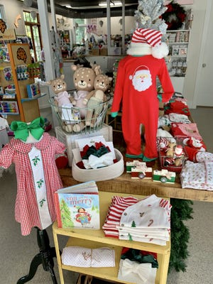 Some of the inventory on display at Old Town boutique Moonlit Lullaby. Owner Jillian Atkinson said the store is hosting Santa Claus for a socially distanced event Dec. 12.