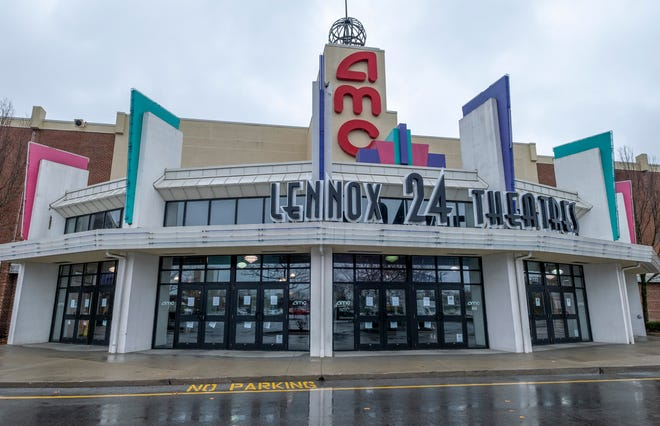 The movie theaters at AMC Lennox Town Center 24 have been closed permanently.