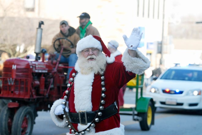 Dalton residents can catch Santa Claus and Mrs. Claus in the Christmas parade or at the drive-thru event in the village parking lot immediately following the parade.