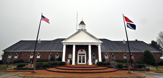 Spring Hill City Hall is located at 199 Town Center Parkway. The building houses local government offices including the local police department.