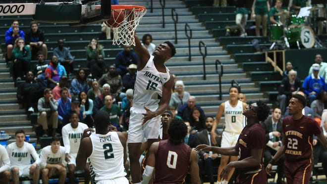 Mahamadou Diawara had 16 points for the Hatters in a narrow loss to Florida Gulf Coast.