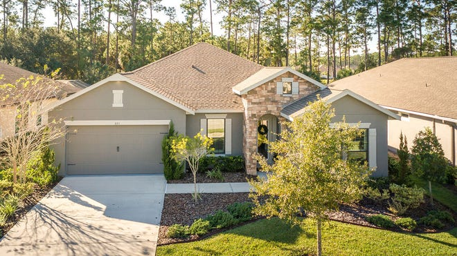 This like-new 2015 Juliette model home is the least expensive home for sale in the Westlake section of Plantation Bay.