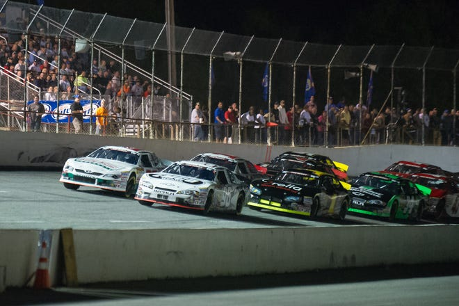 Five Flags Speedway in Pensacola always draws a crowd of cars and fans for its Snowball Derby.
