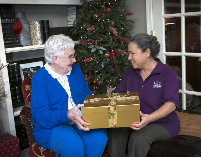 Home Instead's Be a Santa to a Senior program provides gifts for local seniors each Christmas.