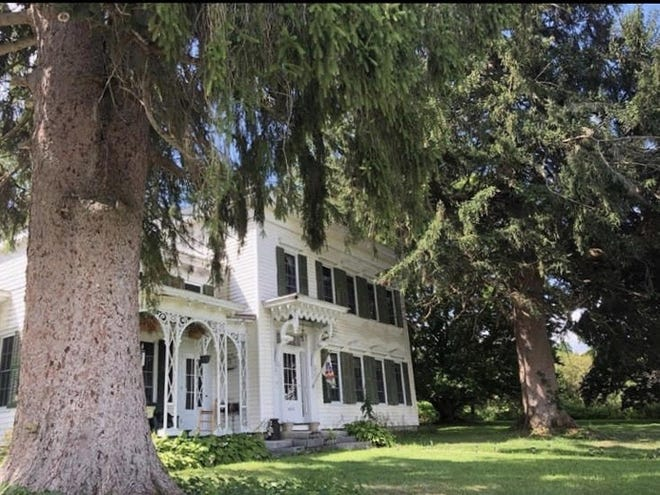 The Hildreth house on Route 28, Herkimer, was named to the New York State Register of Historic Places earlier this fall. The owner is now seeking additional information on the house and barn.