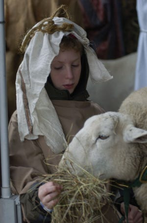 Mesa Farm's Living Nativity will be a bit different this year.
