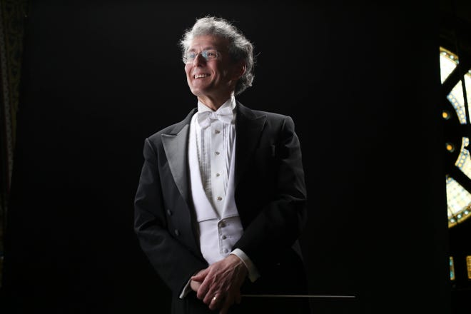 Conductor-composer-harpsichordist and Boston Baroque founder Martin Pearlman.