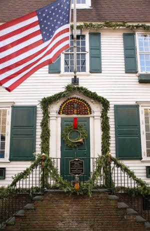 Clarke Cooke House on Bannister's Wharf.