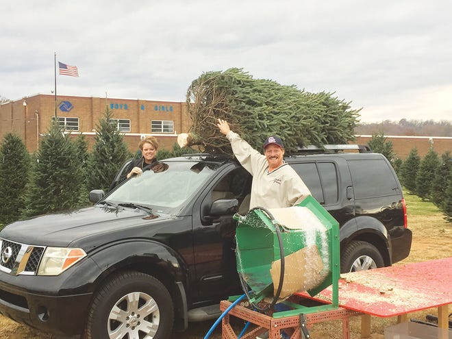 Boys and Girls Club Christmas tree lot — Darrell and DeLisa Weisgarber purchased their Christmas tree from the Boys and Girls Club of Oak Ridge. The 370 Fraser fir trees from North Carolina have arrived and are ready for purchase. The tree lot is located at the Club on Jefferson Circle. Fresh wreaths are also for sale. Tree sales start Friday, Nov. 27. Hours are: Friday, 12-8; Saturday, 10-8; Sunday, 12-6; and week nights, 5-8. Follow the Club's Facebook page for special announcements.