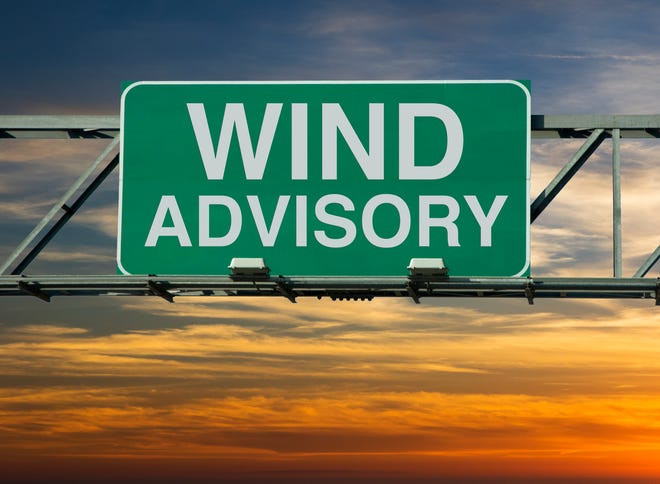 The National Weather Service in Cleveland has issued a wind advisory for northern Erie County in effect from noon Thursday until 4 a.m. Friday.