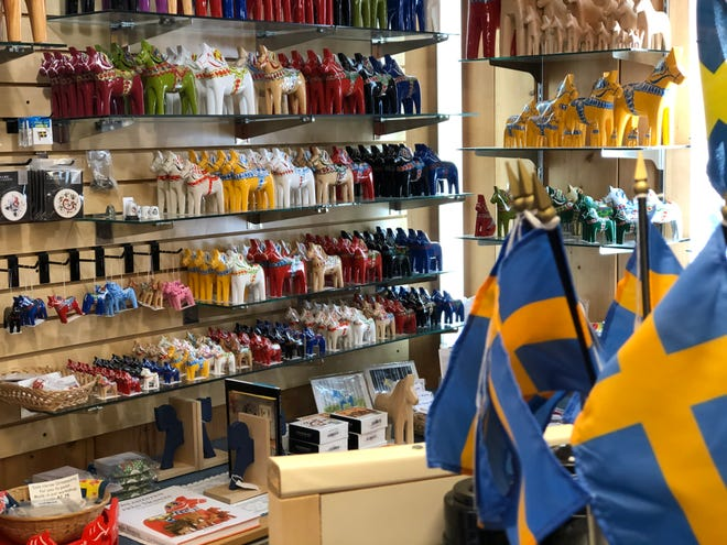 Hemslojd Swedish Gifts, 201 N. Main St. in Lindsborg, has sold items all over the world.