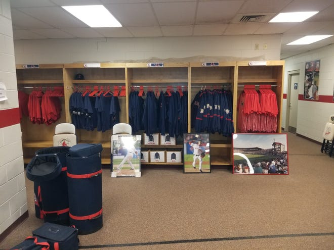 Some of the items up for sale during this weekend's PawSox  'virtual' ballyard sale.