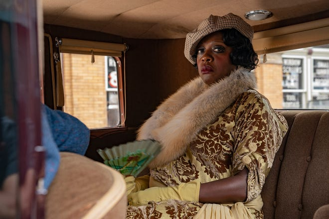 """Viola Davis stars as Ma Rainey, a groundbreaking Black singer from Georgia known as """"Mother of the Blues,"""" in """"Ma Rainey's Black Bottom."""""""