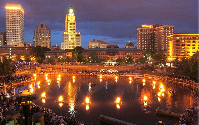 WaterFire has lightings scheduled for Sept. 18 and 24; Oct. 2, 16 and 27; Nov. 6; and Dec. 4