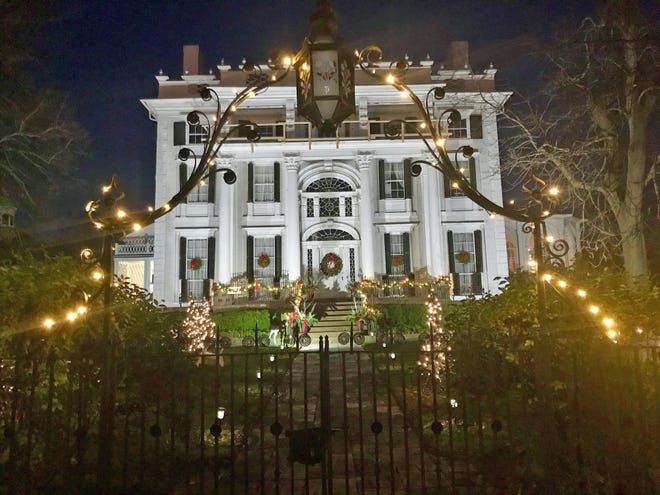 Linden Place Mansion in Bristol is planning a full schedule of outdoor events for the holiday season including cocktail class.