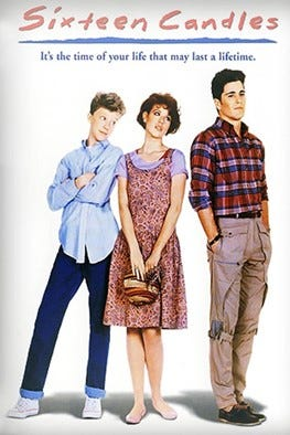 """Sixteen Candles"" plays at the Story Theater this weekend."