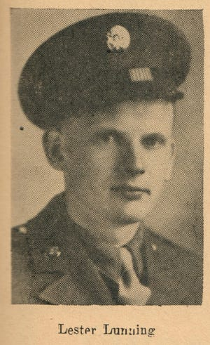 This photo of Lester Lunning is from the 1948 Story City Herald Panorama Book.