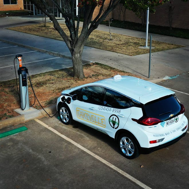 According to a social media post by Taxiville, the community of Stephenville recently got its first public charging station for electric vehicles. The station is located at United Cooperative Services, 1200 Glen Rose Road.