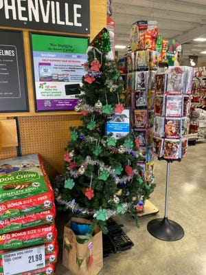 Pet Supplies Plus of Stephenville is hosting Meals on Wheels of Erath County's Pet Angel Tree.