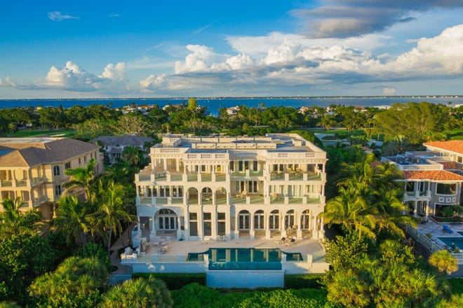 This Longboat Key estate just sold for a Sarasota-Manatee record of $16.5 million.