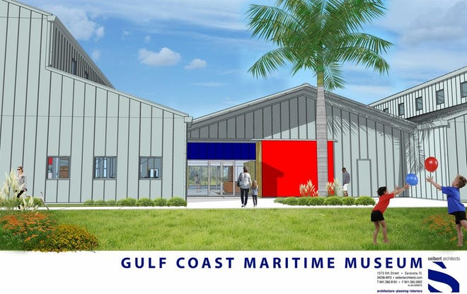 The Gulf Coast Maritime Museum is proposing a facility on two acres of Bobby Jones Golf Club. Architectural plans drawn up by Seibert Architects call for three 10,000-square-foot exhibition buildings for more than 50 boats.