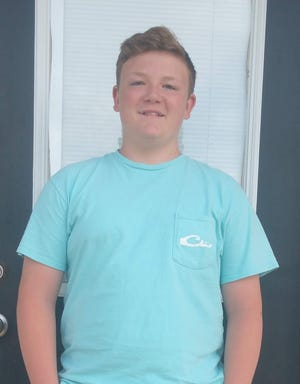 Payton Morris of South Brunswick High School is Brunswick County's Student of the Week.
